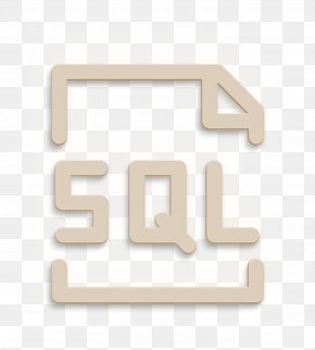 Symbol Text - Database Icon PNG