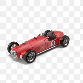 Vintage Red Car Handsome - Car Download PNG