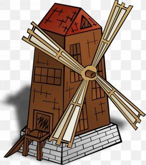 Mill Cliparts - Windmill Watermill Clip Art PNG