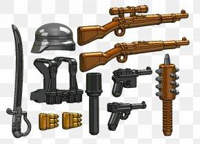 Empty Basket - First World War Weapon BrickArms Gun LEGO PNG