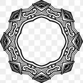 Design - Picture Frames Circle Clip Art PNG