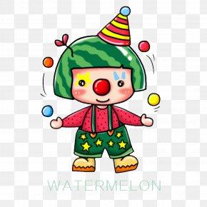 Clown Show - Clown Performance Juggling PNG