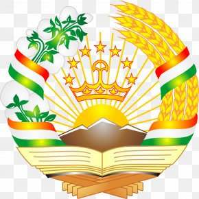 Usa Gerb - Emblem Of Tajikistan Tajik Soviet Socialist Republic Tajik Autonomous Soviet Socialist Republic Coat Of Arms PNG
