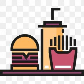 Fast Food Restaurant - Hamburger Fast Food French Fries Junk Food Clip Art PNG