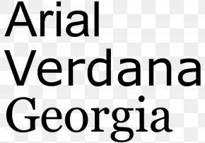 Microsoft - Georgia Sans-serif Typeface Font PNG