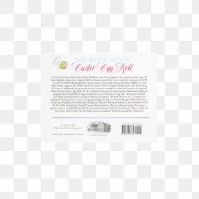 White House Easter Egg Roll - Brand Font PNG