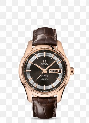 Ladies Watch - Omega SA Mechanical Watch Coaxial Escapement Omega Constellation PNG