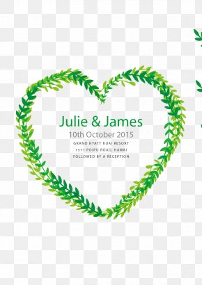 Wedding Invitation In The Form Of Heart - Wedding Invitation Marriage Euclidean Vector Digital Art PNG