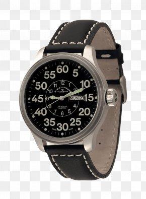 Watch - Zeno-Watch Basel Power Reserve Indicator Chronograph Automatic Watch PNG
