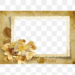 Golden Photo Frame Essential Electronic Photo Frame - Picture Frame Royalty-free Wallpaper PNG