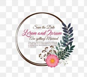 Warm Wedding Invitation Templates - Wedding Invitation Clip Art PNG