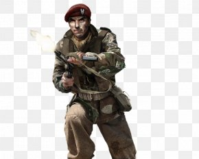 Soldiers - Call Of Duty: WWII Second World War British Commandos Special Air Service PNG