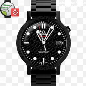 Watch - Watch Quartz Clock Amazon.com Omega Seamaster Water Resistant Mark PNG