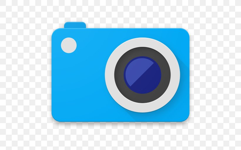 Camera Android Photography Icon Design, PNG, 512x512px, Camera, Android, Brand, Digital Slr, Electric Blue Download Free