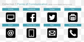 Communication - Mobile Phones Telephone YouTube Email PNG