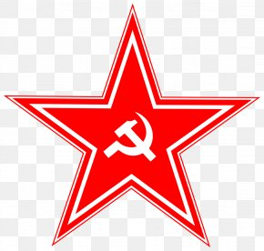 Red USSR Star Image - Red Star Icon PNG