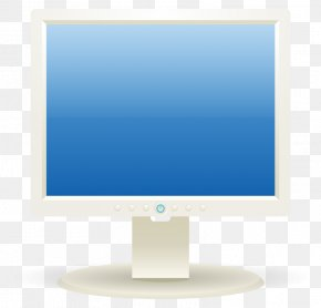 Computer Screen Clipart - Computer Monitor Liquid-crystal Display Clip Art PNG