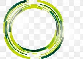 Green Sci-Fi Circle - Circle Clip Art PNG