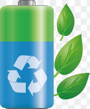 Green Battery - Battery Environmentally Friendly Clip Art PNG