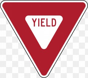 R - United States Yield Sign Traffic Sign Stop Sign Manual On Uniform Traffic Control Devices PNG