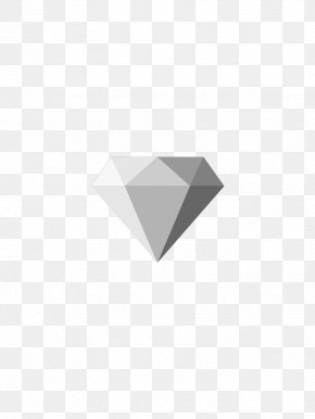 Grey Diamond - Grey Icon PNG