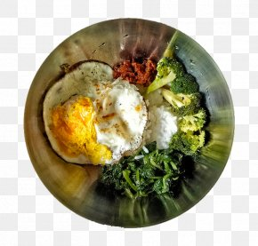 Nutrition Poached Broccoli - Poached Egg Fried Egg Bibimbap Omelette PNG