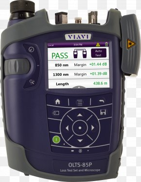 Enterprise Vi Design - Optics Multi-mode Optical Fiber Optical Power Meter Viavi Solutions PNG