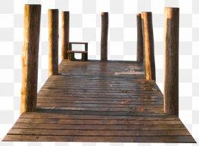 Wooden Bridge Material Free To Pull - Bridge Wood PNG