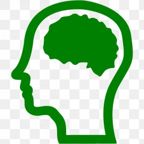 Green Brain - Human Brain Human Head Clip Art PNG