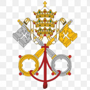 Regalia - Flag Of Vatican City Papal States National Flag PNG