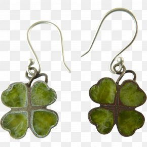 Four Leaf Clover - Earring Jewellery Costume Jewelry Four-leaf Clover PNG