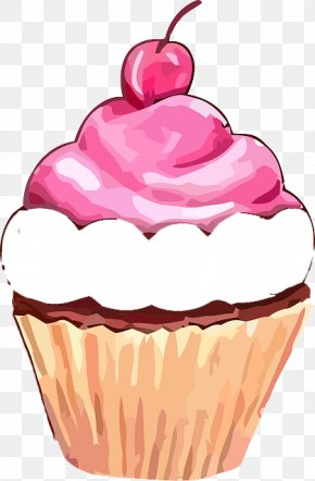 Cake - Cupcake Muffin Frosting & Icing Birthday Cake Clip Art PNG