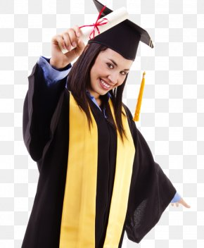 Graduation - Graduation Ceremony Square Academic Cap Academic Dress Diploma Student PNG