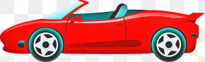 Concept Car Toy Vehicle - Police Cartoon PNG