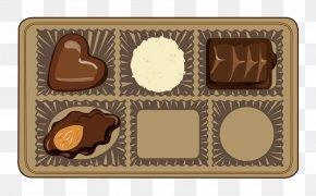 Chocolate Box - Praline Chocolate Truffle Bonbon Ferrero Rocher PNG