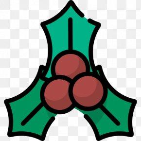 Mistletoe - Leaf Symbol Line Clip Art PNG