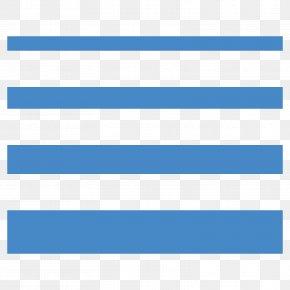 Horizontal Line - Aqua Electric Blue PNG