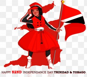 Paintings Of Independence Day - Trinidad Tobago Independence Day Clip Art PNG