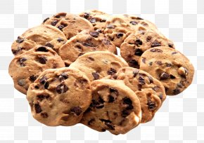 Chocolate Cookie - Chocolate Chip Cookie PNG