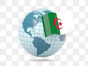 Flag Of Algeria - Globe Flag Of Singapore Flag Of Egypt Flag Of Indonesia PNG