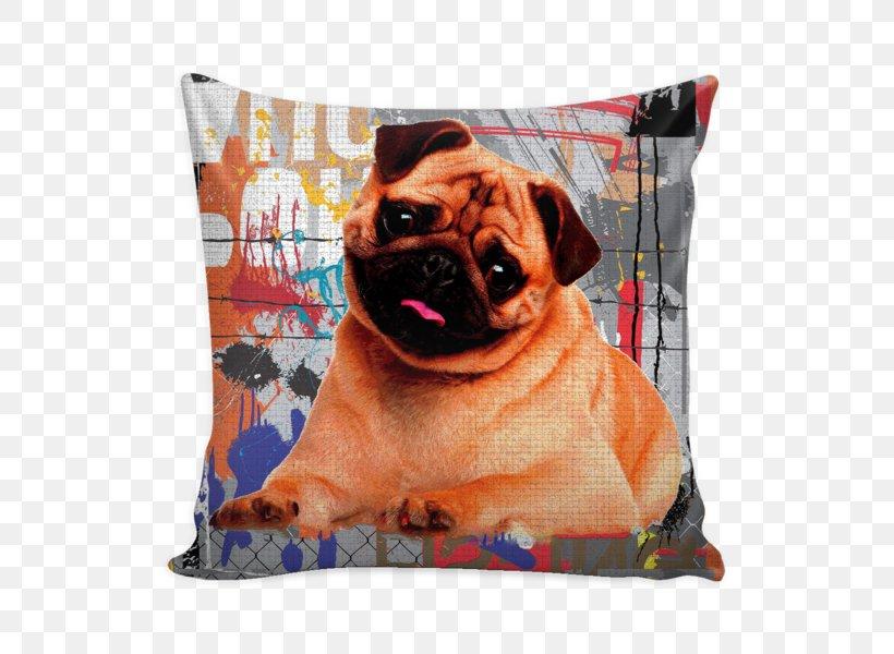 Pug Dog Breed Throw Pillows Toy Dog, PNG, 600x600px, 2018, Pug, Breed, Calendar, Carnivoran Download Free