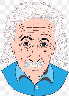 Einstein Clipart Collection - Albert Einstein Quotes Physicist Clip Art PNG