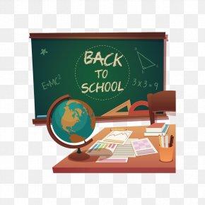Creative School Supplies - School Supplies Blackboard Adobe Illustrator PNG