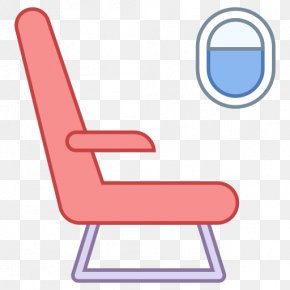 Car Seats - Airplane Flight Airline Seat Clip Art PNG