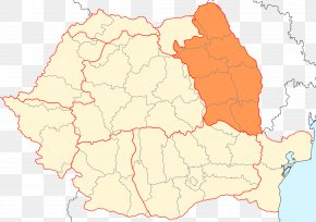 Map - Western Moldavia Romania Moldova Map PNG