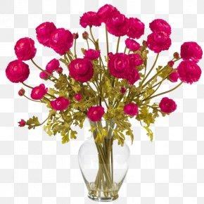 Vase Of Flowers - Artificial Flower Vase Floral Design Floristry PNG