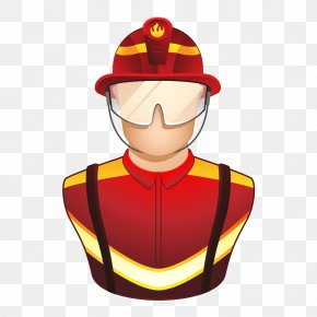 Firefighter - Firefighter Euclidean Vector Icon PNG