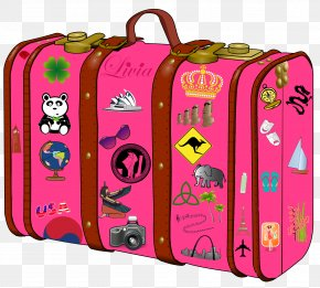 Suitcase Clipart - Suitcase Baggage Clip Art PNG