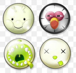 Cute CD Face Icon - Avatar Icon PNG