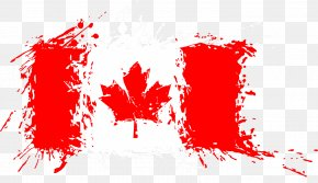 Canada - Flag Of Canada Flag Of The United States PNG